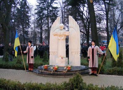 Вічна пам'ять жертвам голодомору 1932-33 років