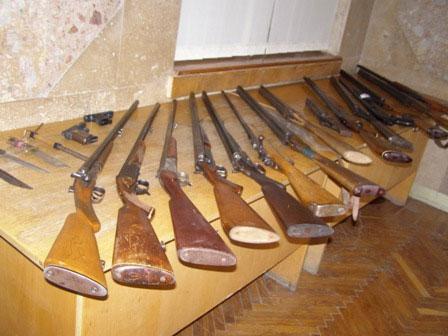 На Вінниччині завершився черговий місячник добровільної здачі зброї