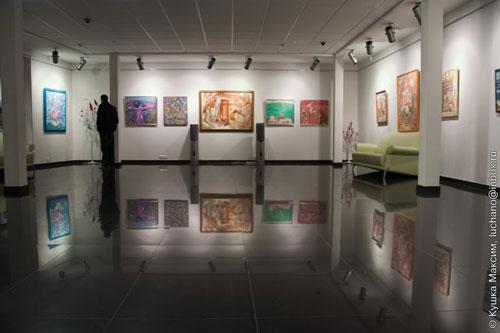 Персональна виставка Олександра Шиніна у галереї АртШик