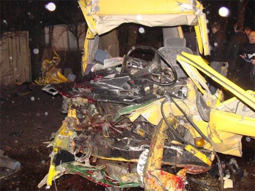 У ДТП у Вінницькій області загинули 10 людей