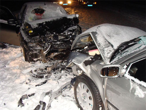 20 грудня на автошляху Іллінці-Липовець сталася аварія