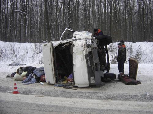21 грудня на автошляху Хмельницький-Немирів сталася аварія