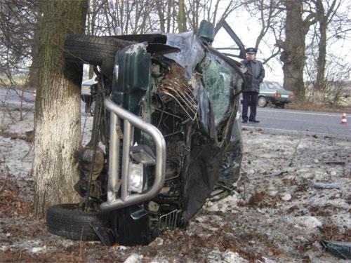 На автотрасі у Вінницькій області розбився депутат облради