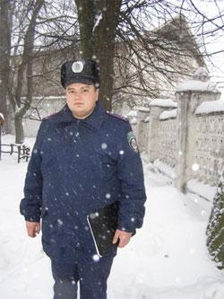 дільничий інспектор міліції Сергій Патлатюк