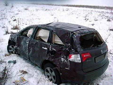Зибров попал в аварию
