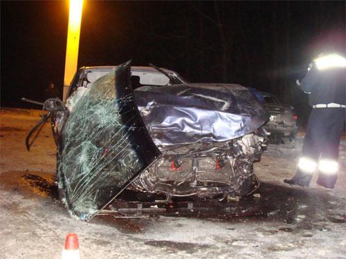 15 січня біля с. Туча Козятинського району сталася аварія