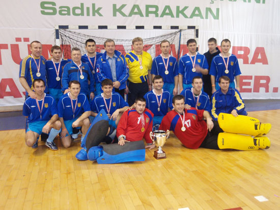 Сборная Украины по индоорхоккею становится чемпионом Европы!