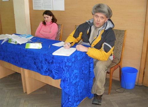 Вінничани виносили бюлетені з виборчих дільниць