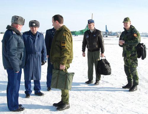 Екіпажі повітряних сил готуються до самооцінки