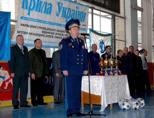 У Вінниці стартувала 5-та першість Повітряних Сил ЗСУ з футзалу