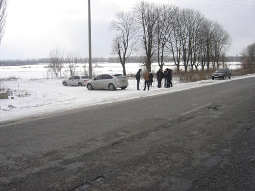 7 березня по Барському шосе сталася аварія