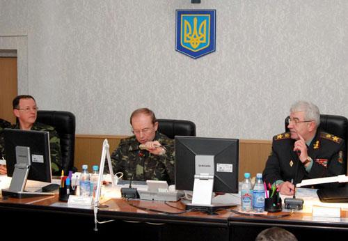 Начальник Генерального Штабу перевірив готовність чергових сил з протиповітряної оборони держави