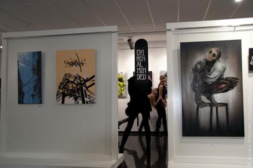 Искусство улиц в галерее «ИнтерШик»