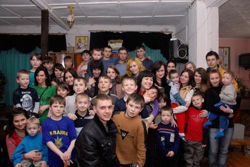 """На детдом в Вороновице потратили собранные деньги участники аукциона """"Купи встречу с человеком"""""""
