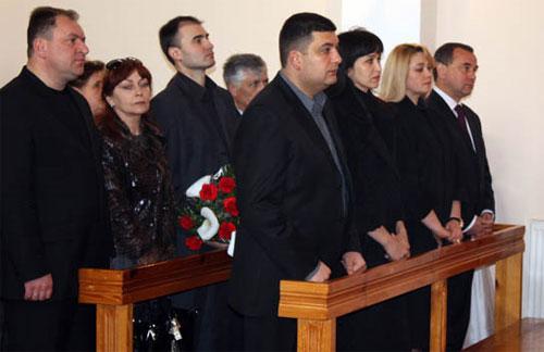 У Вінниці вшанували пам'ять загиблого президента Польщі