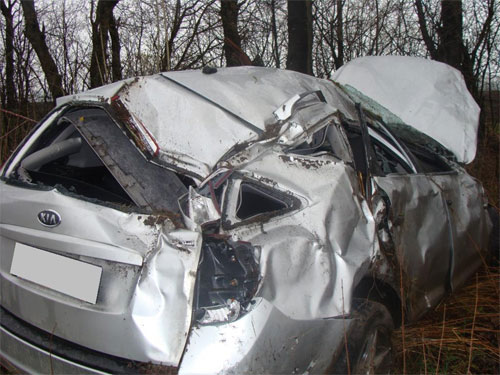 аварія Kia ceed