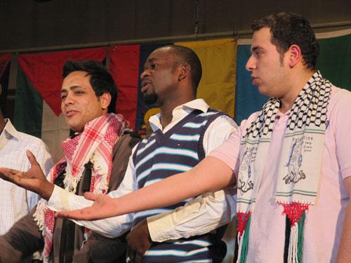 Фестиваль іноземних студентів - Камерун та Еквадор - пісня про кохання
