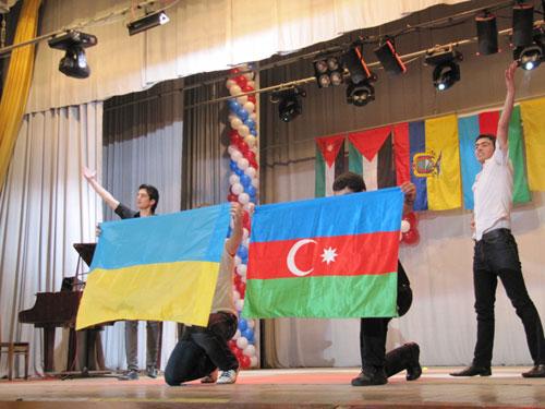 танок «Лізгінка» у виконанні земляцтва Азербайджану