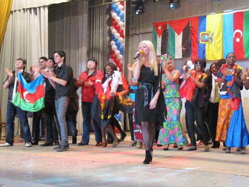 Фестиваль іноземних студентів - фінальна пісня