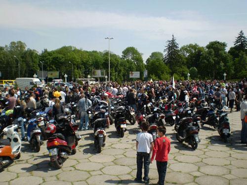 вже вдруге до нашого міста на святкування у Вінниці Дня Європи з'їдуться байкери з усієї України