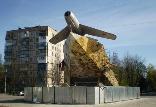 у Вінниці розпочали капітальний ремонт пам'ятника льотчикам-визволителям