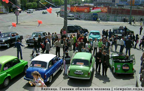 У Вінниці відсвяткували 50-річний ювілей «Запорожця»