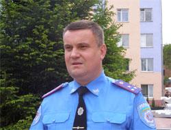 начальник Ленінського ВМ МВ ГУМВС Віктор Сидоренко