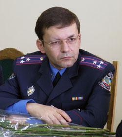 Віктор Максимишин – начальник управління податкової міліції ДПА у Вінницькій області