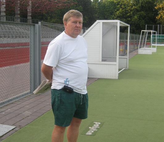 Главный тренер сборной Украины и «Олимпии–Колоса-Секвойи» Павел Мазур.