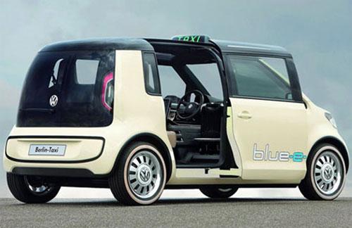 Volkswagen разработал электротакси