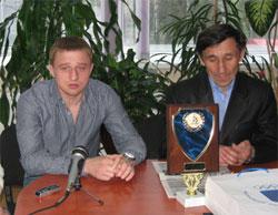 Баліцький Костянтин та Кулібаба Олександр отримали президентські стипендії
