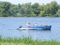 На Вишенському озері купатись суворо заборонено