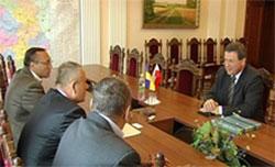 Голова облдержадміністрації Микола Джига та Генеральний Консул Польщі у Вінниці Кшиштоф Свідерек