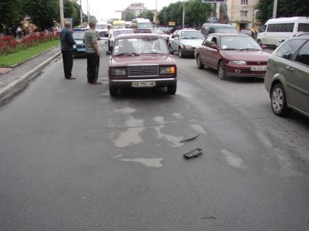 ДТП на Коцюбинського