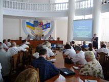 Миколи Джиги з представниками громадських організацій області