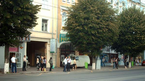 Спеціальна розмітка жовтого кольору з'явилась у Вінниці