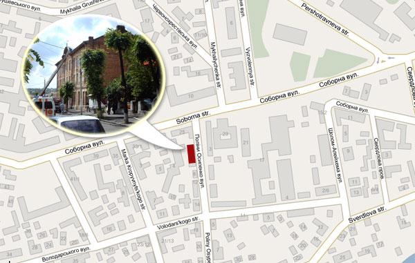 В будинку, по вулиці П.Осипенко, 4 сталася пожежа