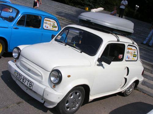 Вінничани долучились до міжнародного автопробігу на «запорожцях»
