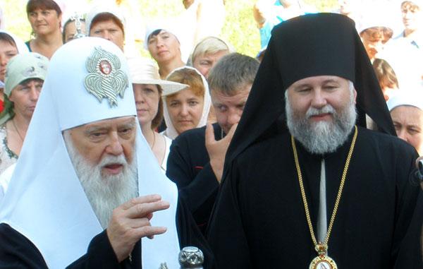 Патріарх Філарет освятив храм на Вінниччині