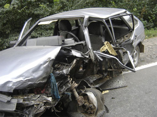 20 серпня біля села Садове Літинського району сталася аварія