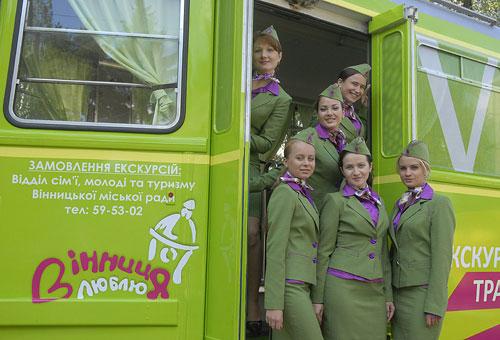 екскурионный трамвай в Виннице