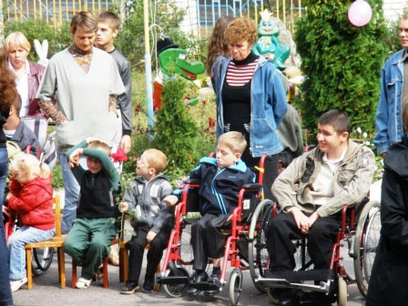 у Вінницькому центрі соціальної реабілітації дітей-інвалідів «Промінь» відбулося урочисте відкриття нового навчального року