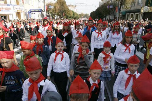 Карнавал на День народження Вінниці