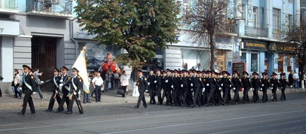 У Вінниці пройшов парад МНСників