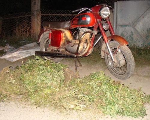 У вересні на дорогах Вінницької області було зупинено водіїв у яких інспектори вилучили  біля 40 кг наркотичних речовин
