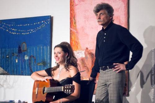 У «АртШику» співала солістка Одеського національного театру опери та балету співачка Аліна Михайлюк