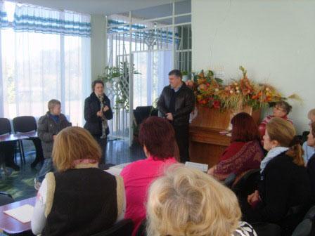 Відбулася зустріч кандидатів у депутати від Сильної України  із колективами відділів Палацу дітей та юнацтва