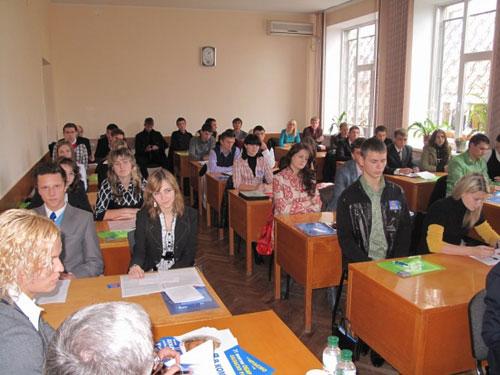 Розпочав роботу студентський парламент зі своїми депутатами та головою
