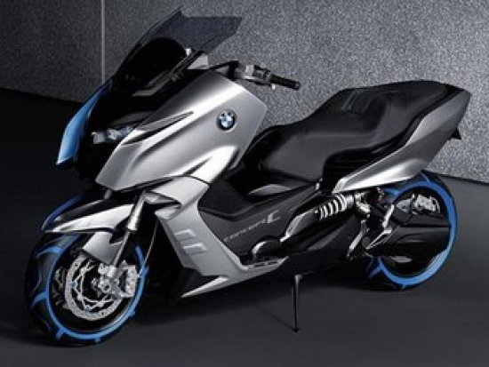 Компанія BMW представила концепт свого першого скутера Concept C