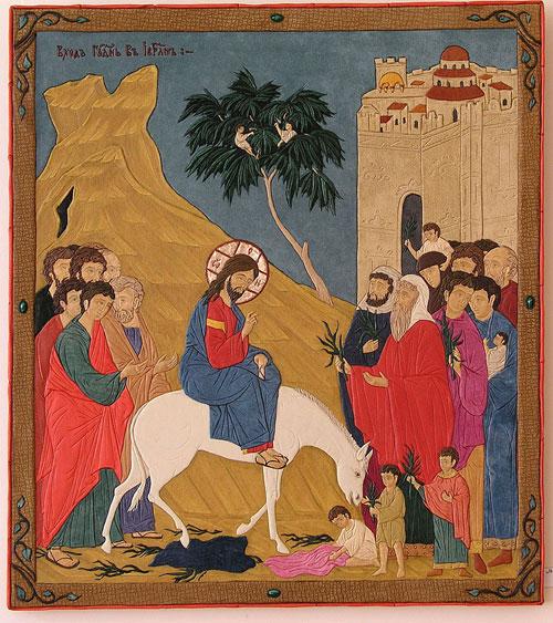 Тиводар - Вход Господень в Иерусалим